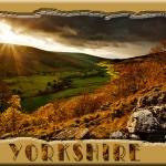 Fotobewerken. Ondergaande zon in Yorkshire